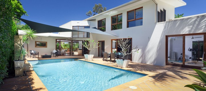 Modern Exterior with Pool